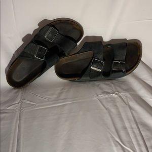 Black Birkenstock's (Size 39)